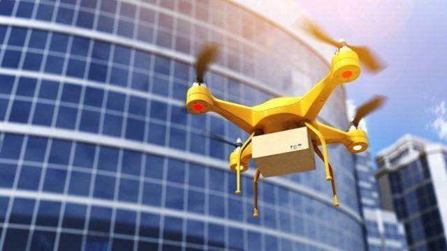 Wings el servicio de entrega por drones hace su primer vuelo en Virginia