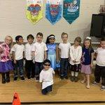 Image for the Tweet beginning: Kindergarten celebrating the 50th day