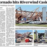 Image for the Tweet beginning: South Norman, OK EF1 Tornado
