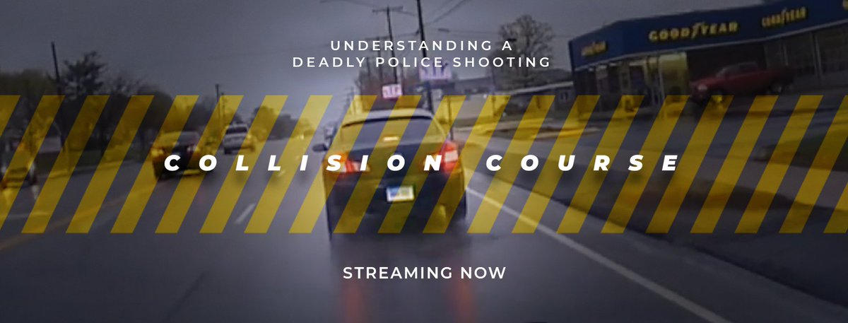 """Our small but mighty newsroom has produced """"Collision Course,"""" a half-hour TV documentary that delves into the fatal police shooting of an 18-year-old in CT. If you haven't yet, please watch and let us know what you think: CPTV.org/collision-cour…"""