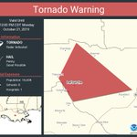Image for the Tweet beginning: Tornado Warning continues for Lafourche