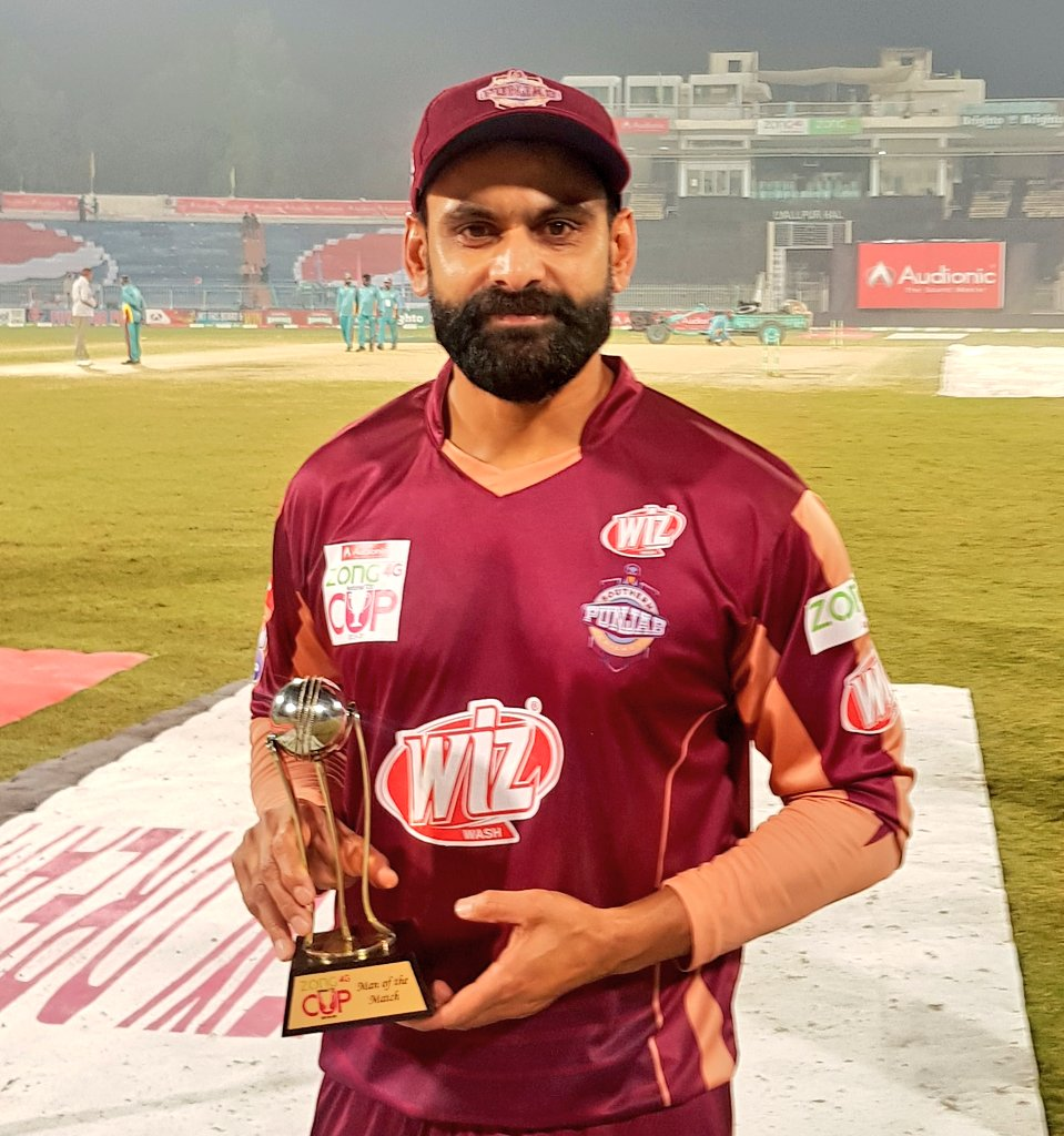 For his match winning spell of bowling, @MHafeez22 is the Man of the Match   #SPvSIN #NationalT20Cup<br>http://pic.twitter.com/72mVhgiXtG