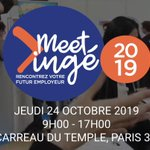 Image for the Tweet beginning: #MeetInge2019 c est jeudi au