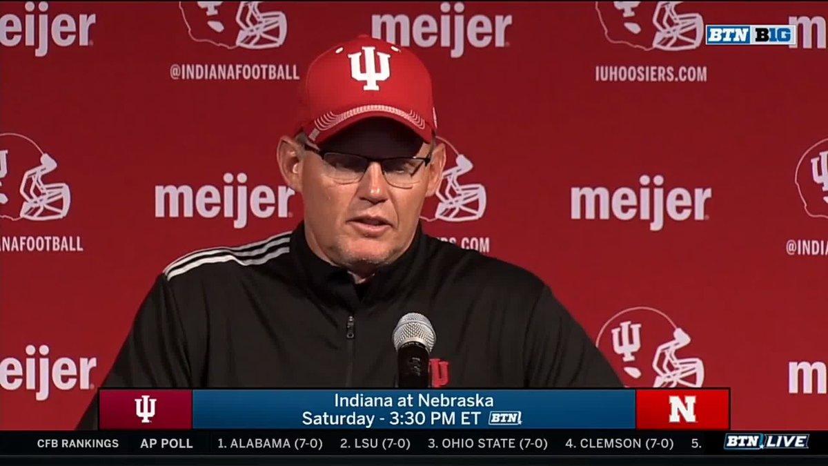 Tom Allen Teases Nebraska Fans Ahead Of Saturday's Game vs. Indiana