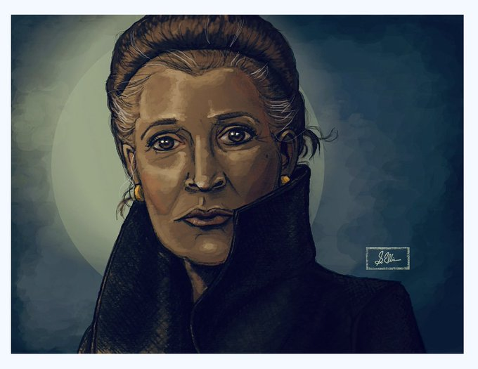 Happy Birthday, Carrie Fisher.