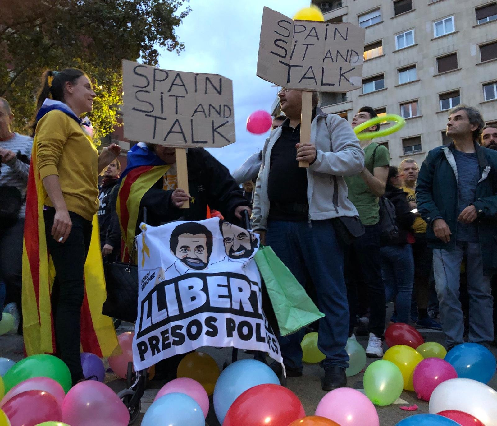 Barcelone manifestations