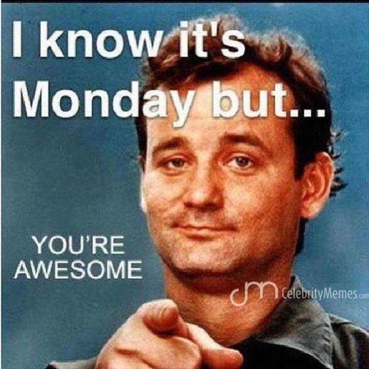 Good job making it through Monday. You're all awesome! From: CelebrityMemes  #mondayvibes #mondaymotivation #gamingpic.twitter.com/Rp6fLoicnC
