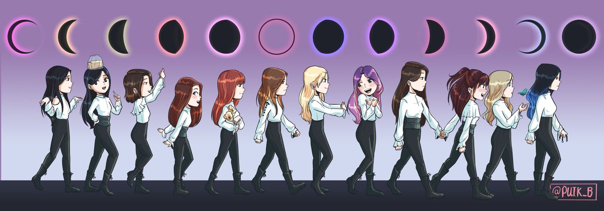 They fly high, like a butterfly  #LOONA  #loonafanart<br>http://pic.twitter.com/FUp5dRwWwJ