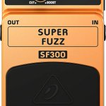 Image for the Tweet beginning: Behringer SF-300 Super Fuzz Guitar