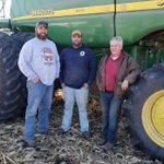 Image for the Tweet beginning: Corn plot #harvest19 for Brandon,