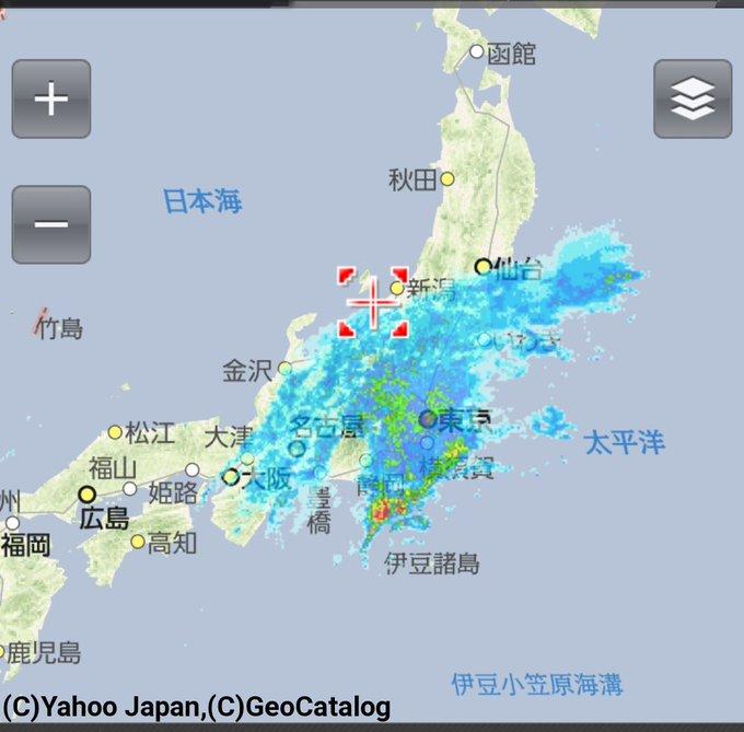枚方 市 雨雲 レーダー
