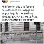 Image for the Tweet beginning: #SatanEsMiSeñor #PuigdemontEsMiTete & #SpainIsAFascitState