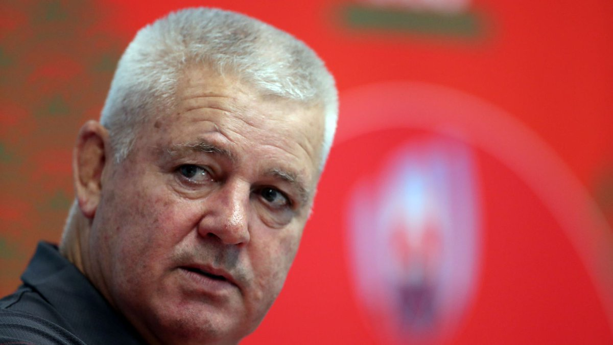 test Twitter Media - Warren Gatland says people are 'making a mountain out of a molehill' after a picture emerged of referee Jaco Peyper appearing to mock the red card he awarded Sebastien Vahaamahina: https://t.co/Vs3LHVJnyR #RWC2019 https://t.co/esZ7S3SvvR