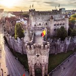 Image for the Tweet beginning: A unique view of Gravensteen