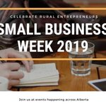 Image for the Tweet beginning: Get involved #smallbusiness Alberta! #SBW2019