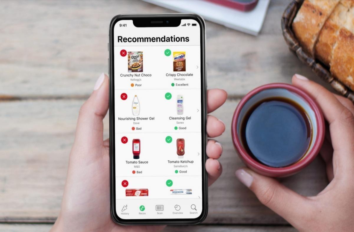 Yuka, la app que analiza los alimentos y pone en jaque a Mercadona y otros hipermercados.