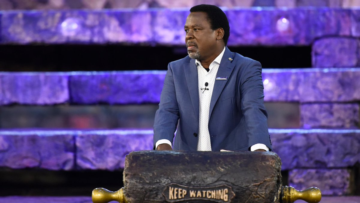 """If God gives you a vision and it is opposed by men, do NOT reduce your vision – stay in the will of God. Man's rejection provokes God's direction!"" - TB Joshua https://t.co/VybXRoA3tm"