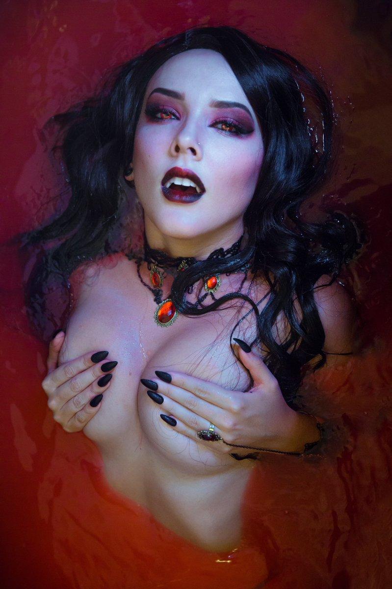 Vampire inspired cosmetics