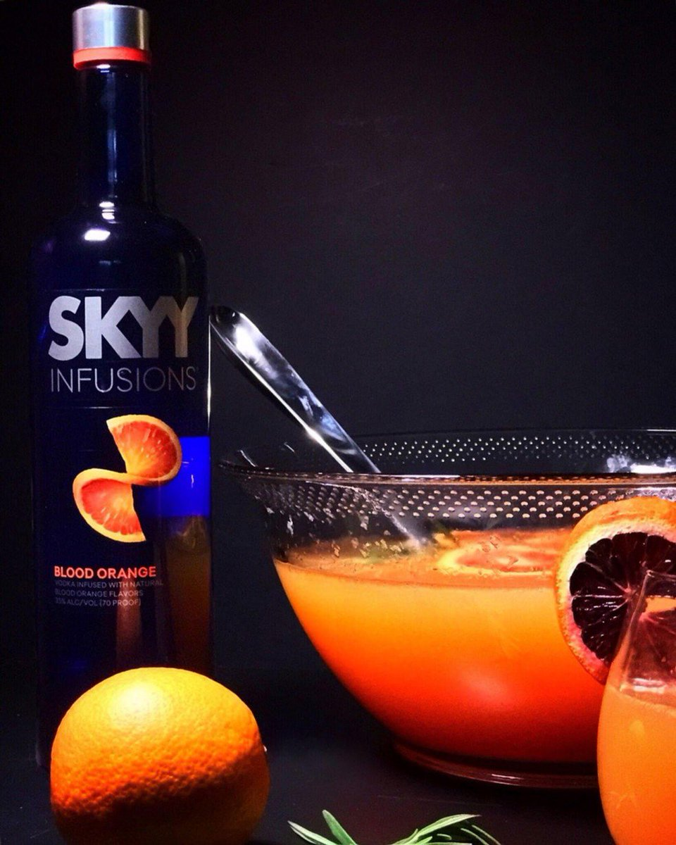 Flicks And Food On Twitter The Blood Orange Punch Using Skyyvodka Infusions Blood Orange Vodka Is Ready For Any Fall Or Halloween Party You Might Be Having Recipe Https T Co Wagdq5zhx3 Https T Co Cby74rkerv