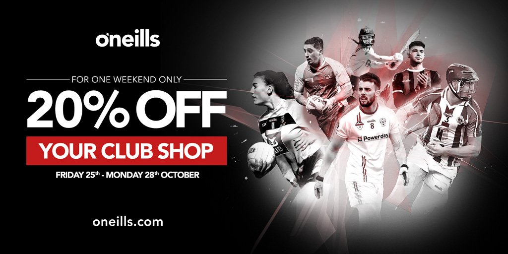 test Twitter Media - WEEKEND FLASH SALE - 25th - 28th OCTOBER 2019  Get your @MaccRUFC kit and branded clothing from official club kit sponsor @ONeills1918 - 20% discount on purchases at for one weekend only.  https://t.co/T04wkcOcDO https://t.co/uwH5Szb5h0