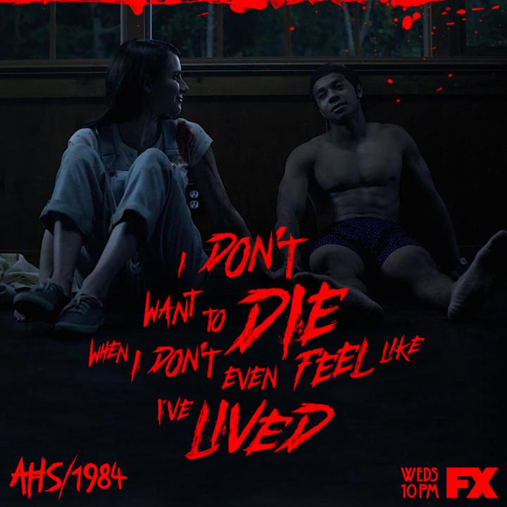 YOLO? Not at Camp Redwood. Join us Wednesday at 10pm for the 100th episode of #AHS .<br>http://pic.twitter.com/uiGL9M9lSd