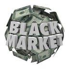 Image for the Tweet beginning: Black Market Still Controls 85%