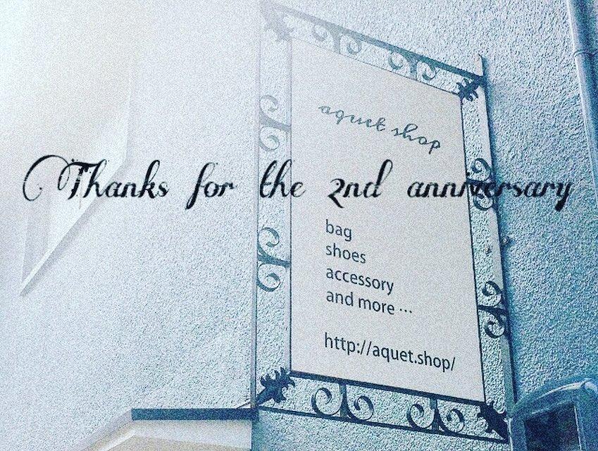 aquet shopは、10/28で2周年を迎えます!  そこで日ごろの感謝を込めて10%OFF SALEを開催します。   さらに、お買い上げのお客様に使用期限なしの10%OFFチケットをプレゼント!   期間10/28(月)~11/2(土) ウェブショップ同時開催  #2周年 #aquetshop  #八尾市 #近鉄八尾pic.twitter.com/PfXQhcnigK