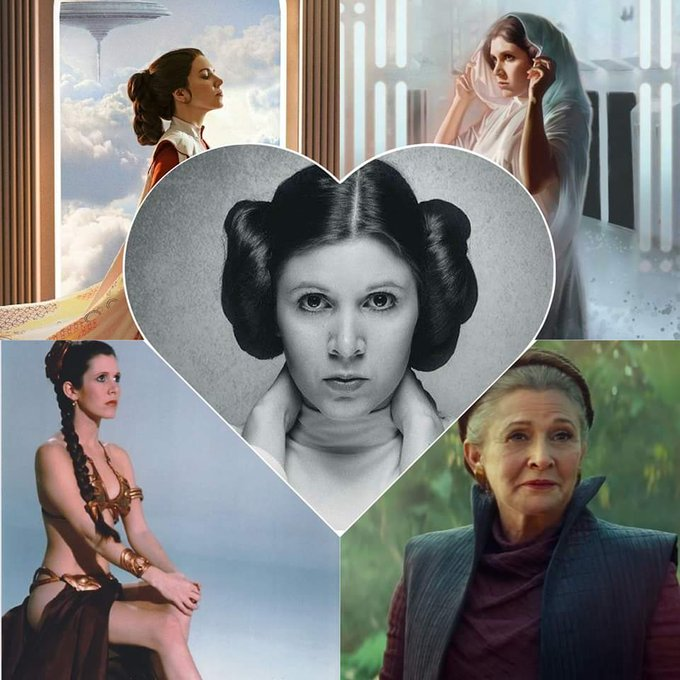 Happy Birthday to our Princess, The General, Carrie Fisher.