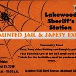 Image for the Tweet beginning: Lakewood Sheriff's Station is having