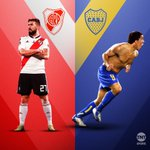 Image for the Tweet beginning: Se viene #Boca vs #River