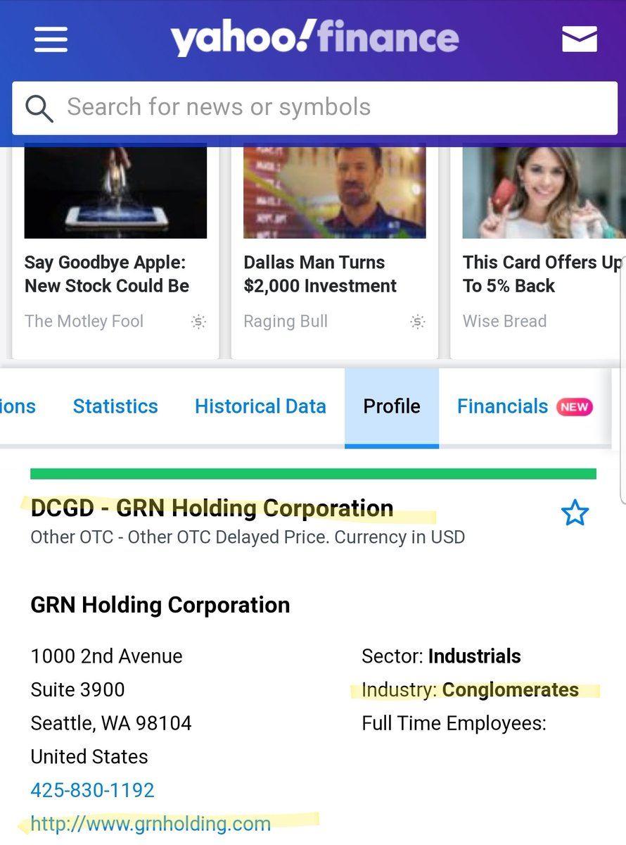 We've heard how highly #JustinCostello thinks of Warren Buffet and his investment style.  Berkshire Hathaway is the most famous business #conglomerate in the world.  What if.... $DCGD #HEMP #MMJ #GRNHoldingCorporation $GRNM @computerbux @LlcBillionaire #TakeItBack pic.twitter.com/fAlWldk7j6