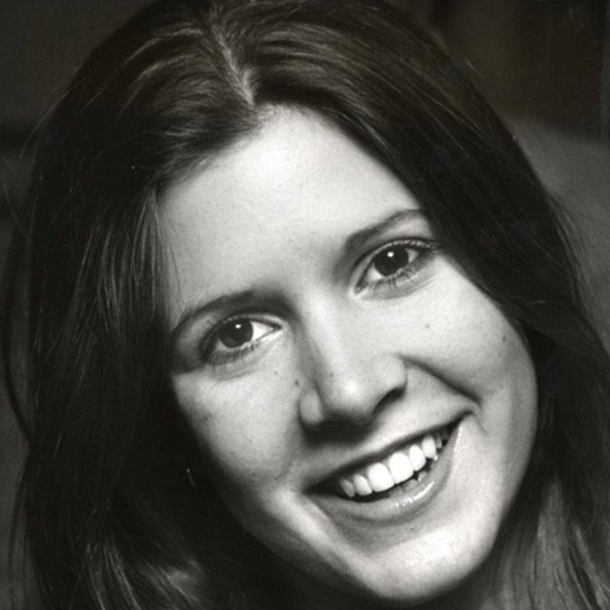 Happy Birthday Carrie Fisher, our true princess. We miss you!