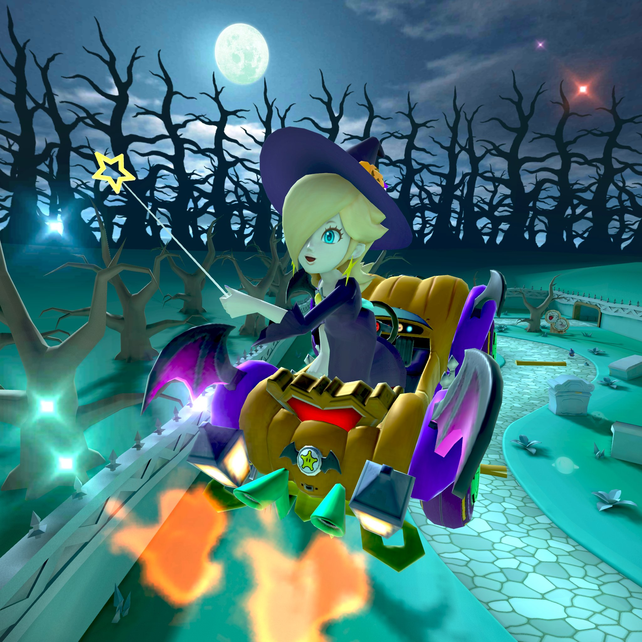 Mario Kart Tour On Twitter In The Next Tour Rosalina Is All Dressed Up For Halloween And She S Looking Even