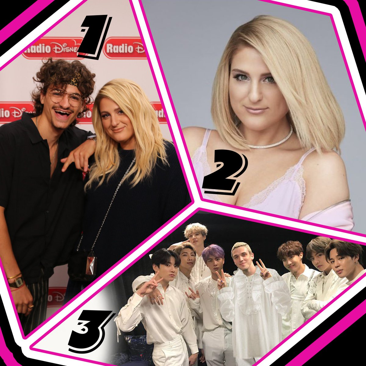 All aboard the M-Train for Monday's #RDTop3!  1. @Meghan_Trainor #Wave (f. @MikeSabathMusic)  2. #MeghanTrainor #Genetics  3. @bts_bighit #MakeItRight (f. @lauvsongs)<br>http://pic.twitter.com/Ls1r3RDTuc