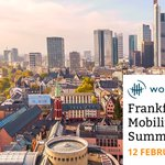Save the date for our upcoming Frankfurt Mobility Summit on 12 February 2020! Click here to be notified when registration opens: https://t.co/DKdAE0W6N6
