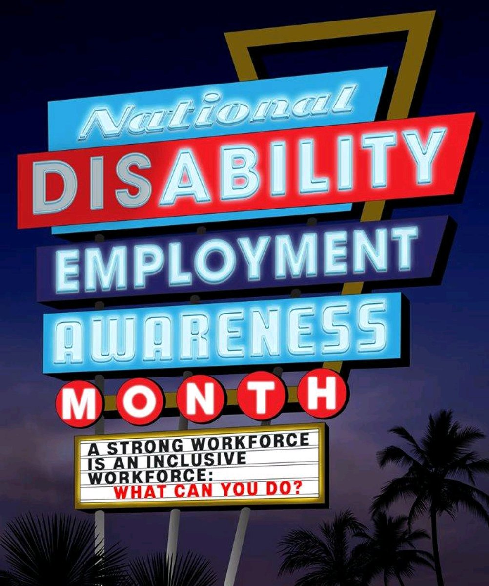 October is National Employment Awareness Month.
