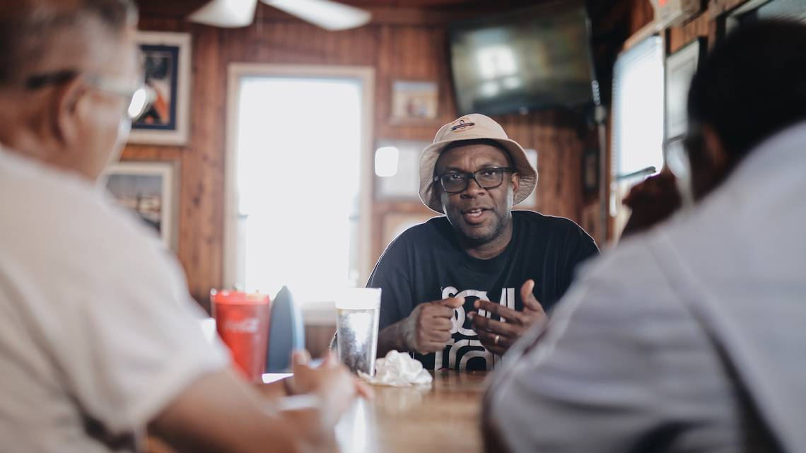 """In case you missed the premiere of """"The Hook,"""" make sure to check out this new half-hour docuseries, where Saltbox Seafood owner and chef Ricky Moore guides us through a look into North Carolina's seafood traditions. https://tinyurl.com/y4hmsp9s"""
