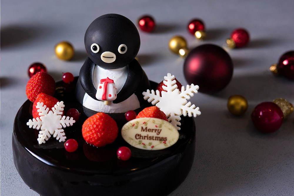 """東京・池袋のホテルメトロポリタンから""""Suicaのペンギン""""クリスマスケーキ -"""