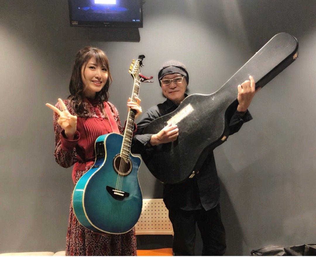 """石丸純士 on Twitter: """"🌈永島さんがギターケース持つと音が出そうだね ..."""