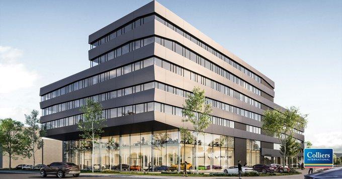 Die Motorworld entwickelt in #Köln das siebengeschossige V12 Building mit 12.500 m² #Büro-Fläche und ca. 3.000 m² #Showroom-Fläche für Premiumautomarken. Colliers International ist mit der Vermarktung der Büroflächen exklusiv beauftragt. Alle Infos:  t.co/HqAtWGvZw0