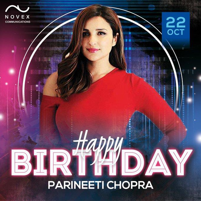 Happy Birthday to Parineeti Chopra