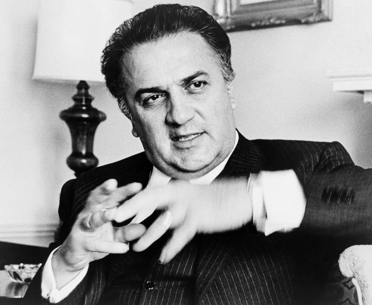 "OTD in 1973: Federico Fellini rocks the film world by declaring Digby, The Biggest Dog In The World is ""not cinema"". ""Yes, the dog is big - but it does not tell a bigger truth. It is an empty spectacle,"" the venerated auteur says <br>http://pic.twitter.com/oBGAXWclZH"