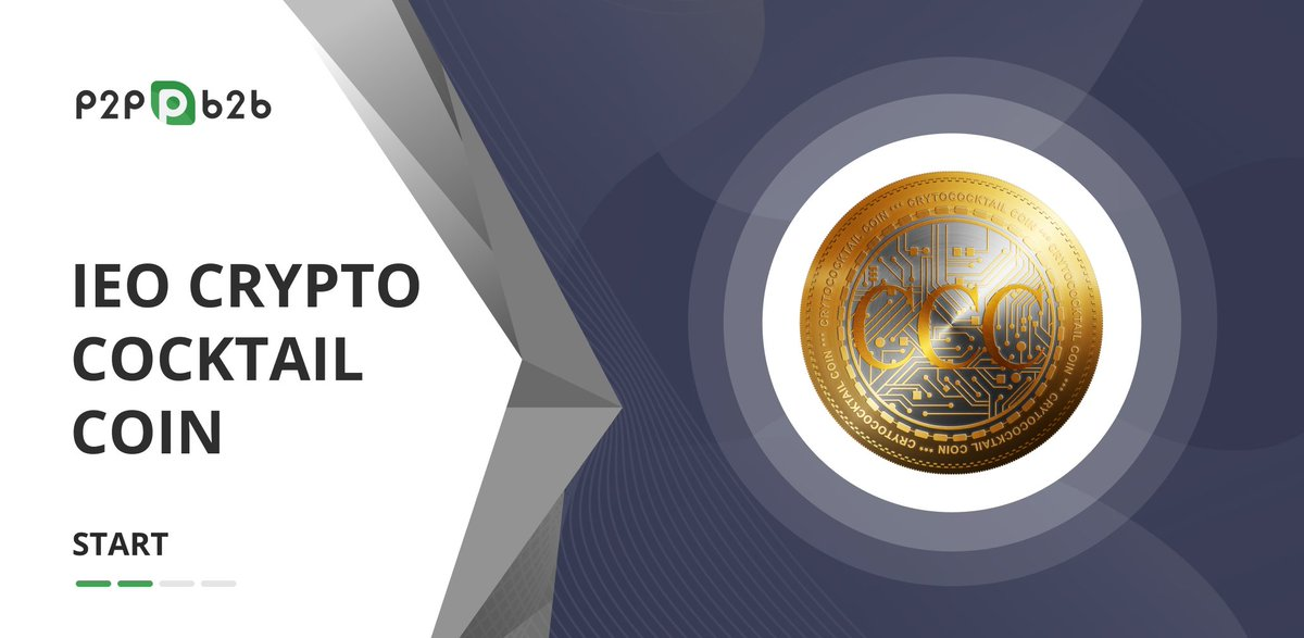 CryptoCocktailCoin IEO starts today. Buy CCC1 tokens with a 60% discount Read more:  http:// bit.ly/2N2OiDq       @cryptococktail's goal is the use of digital cryptocurrency for a self-serve technology that is secure from manipulation.  Participate in IEO:  http:// bit.ly/35VfGMd      <br>http://pic.twitter.com/dI8PZV8Ytz