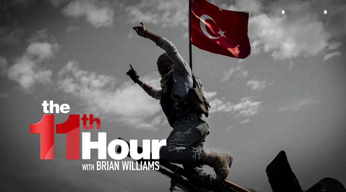 Reacting to Trump pulling U.S. forces from Syria, @MalcolmNance says Donald Trump saved ISIS. Learn more: on.msnbc.com/2p5URgi #11thHour #11MSBBC