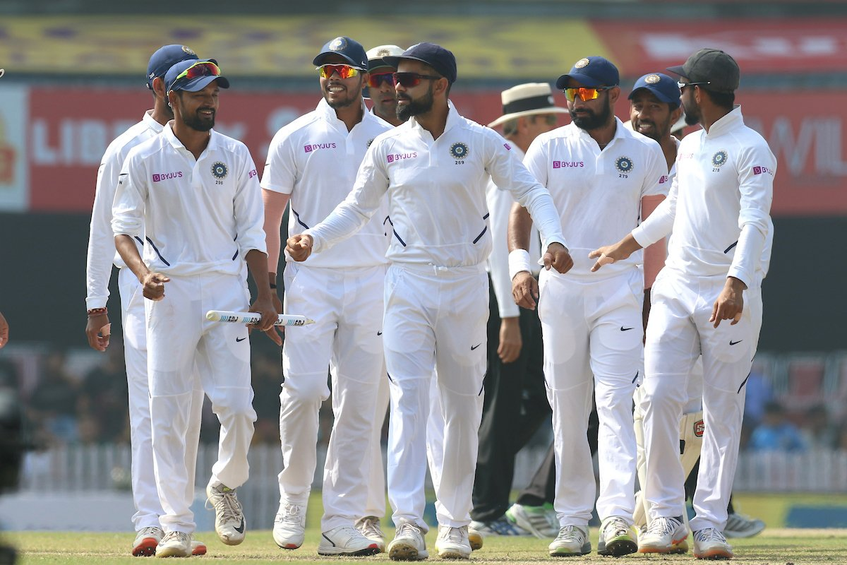 #TeamIndia win the 3rd Test by an innings & 202 runs #INDvSA @Paytm    3-0 <br>http://pic.twitter.com/OwveWWO1Fu