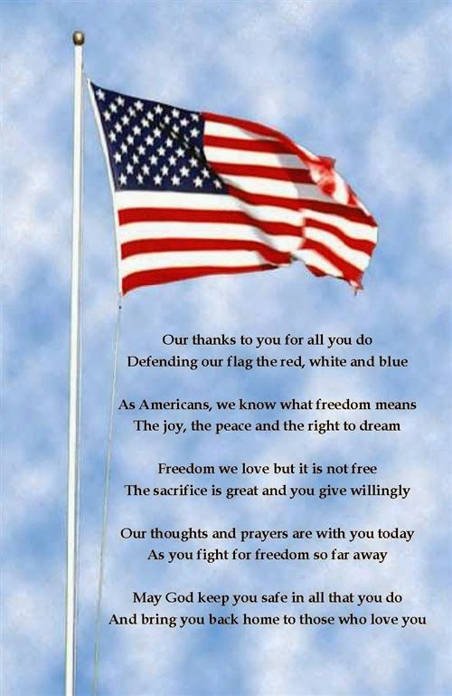 A prayer for our deployed.