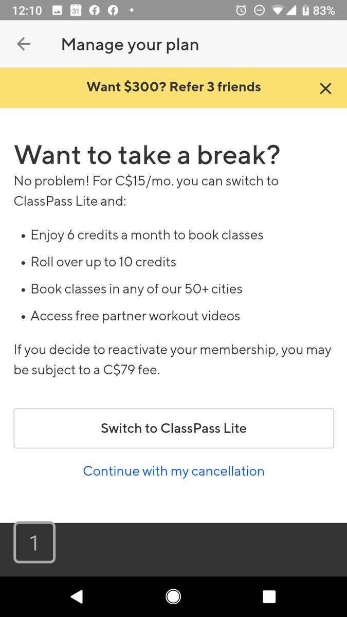 Not known Details About Classpass Lite