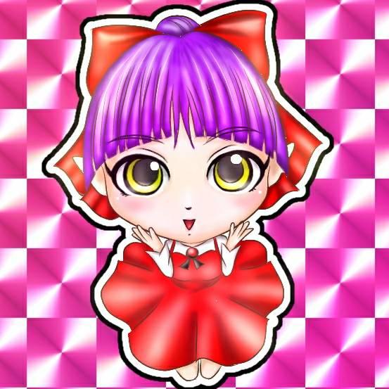 Qposketの猫姉さんが可愛くて、フィギュア風に描いてみた😁💕まなちゃんバージョンも描いてみよー😚🎵