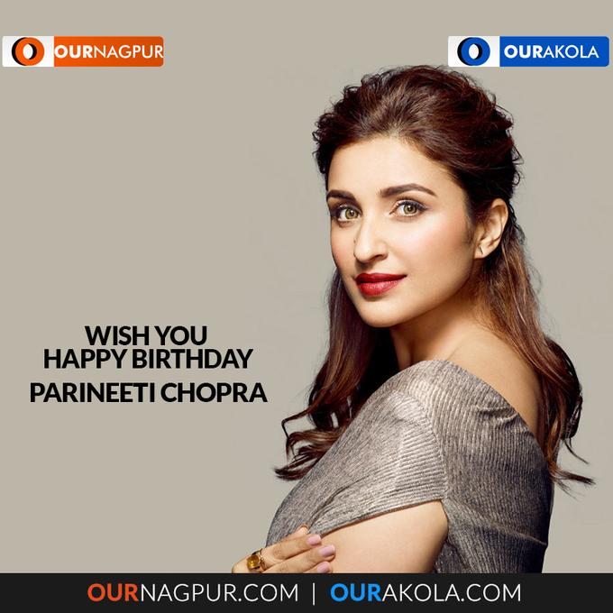 Wishing the gorgeous Parineeti Chopra a very happy birthday.