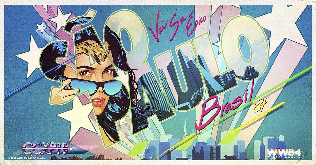 Gal Gadot Shares New Wonder Woman 1984 Art <br>http://pic.twitter.com/hnw4SRJdXA